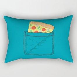 Emergency supply - pocket pizza Rectangular Pillow