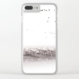 Nature and magic #03 Clear iPhone Case