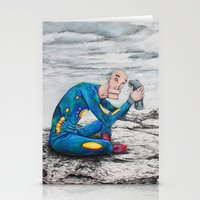 spaceman Stationery Cards featuring Spaceman by Neal Julian
