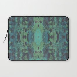 Sycamore Kaleidoscope - Graphite blue green Laptop Sleeve