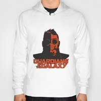 starlord Hoodies featuring Starlord by bookotter