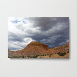 Buttes of New Mexico - On the Road to Santa Fe, No. 5 Metal Print