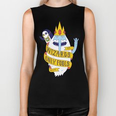 Wizards Only Fools Biker Tank