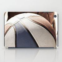 basketball iPad Cases featuring Basketball by SShaw Photographic