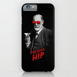 Hipster Psychologist Sigmund Freud iPhone Case