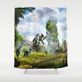 Manchester [Horizon Zero Dawn] Shower Curtain