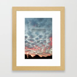 ALARM 02 Framed Art Print