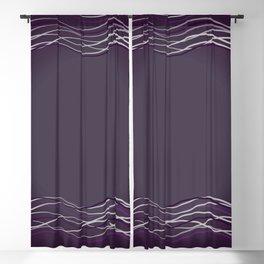 Purple Glow Electric Blackout Curtain