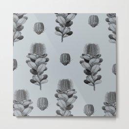Banksia Pattern Metal Print