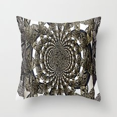 Mid the Arches Throw Pillow