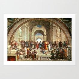 School Of Athens Painting Kunstdrucke