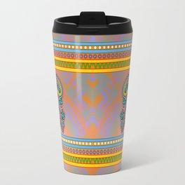 Geckos - Gold Travel Mug
