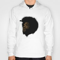 tupac Hoodies featuring Questlove 2.0 by The Art Warriors