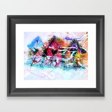A Home For All Seasons Framed Art Print