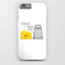 Cheesy Couple iPhone Case