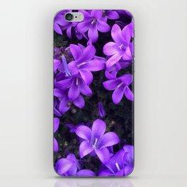 Violetta Blue iPhone Skin