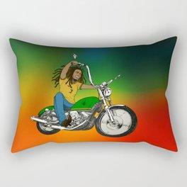 Hit The Road Bob Rectangular Pillow