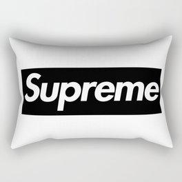 Supreme Black Box Logo Rectangular Pillow
