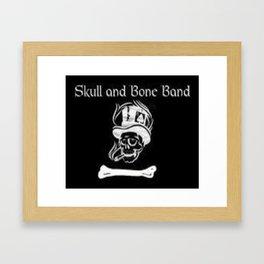 Skull and Bone Band 2 Framed Art Print