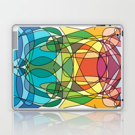 Abstract Curves #4 - Butter Fly Laptop & iPad Skin