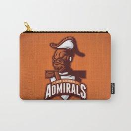 Mon Calamari Admirals on Orange Carry-All Pouch