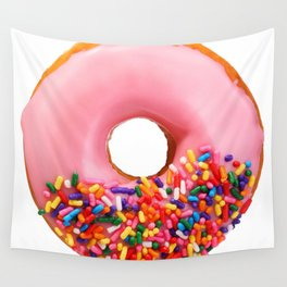 Funny Pattern With Juicy And Tasty Donut Wall Tapestry