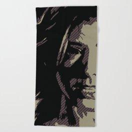 Dark Willow Beach Towel