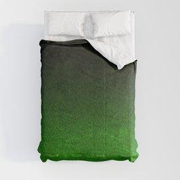 Green & Black Glitter Gradient Comforters