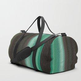 Green Leaf Overlay Duffle Bag