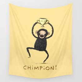 Chimpion Wall Tapestry