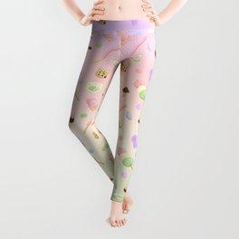 Weeaboo Candy Leggings