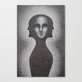Black and White 5 Canvas Print