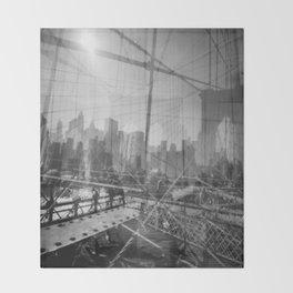 Brooklyn Bridge 3x Throw Blanket