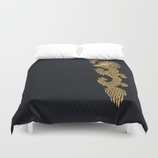 Gold Dragon Ball Z Shen long Art iPhone 4 4s 5 5c, ipod, ipad, tshirt, mugs and pillow case Duvet Cover