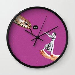 Snake Ex Wall Clock