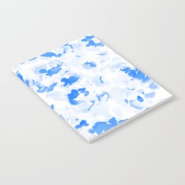 AbstractFlora Lapis Blue Notebook
