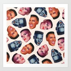 GJ Art Print