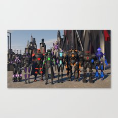 Where  is  Your  Squad? Canvas Print