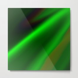 Emerald Fire Metal Print