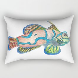 Mandarin Goby Rectangular Pillow