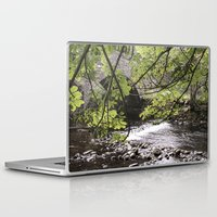 bridge Laptop & iPad Skins featuring Bridge   by Mark Spence