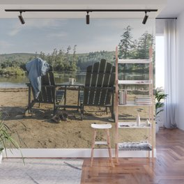 Adirondack Chairs Wall Mural