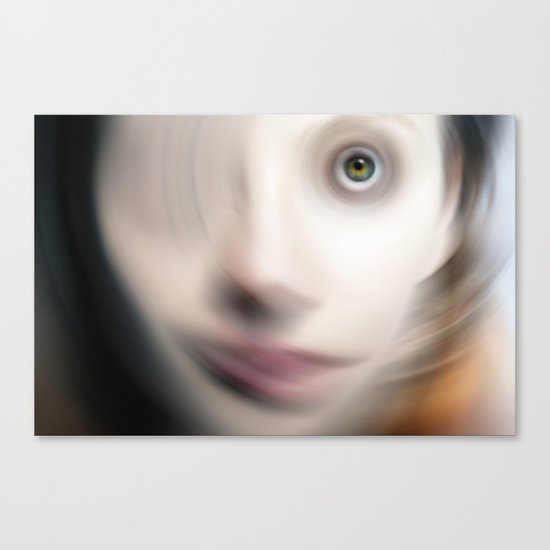 Swirling Mind Canvas Print