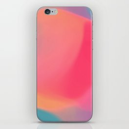 Diffuse colour iPhone Skin