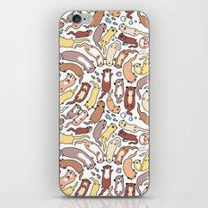 Adorable Otter Swirl iPhone & iPod Skin