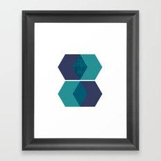 Sekskant Framed Art Print