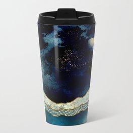 Indigo Sky Metal Travel Mug