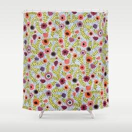Floral by Veronique de Jong Shower Curtain