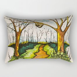 The Hive Garden Rectangular Pillow