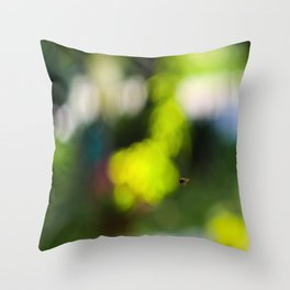 bzz Throw Pillow